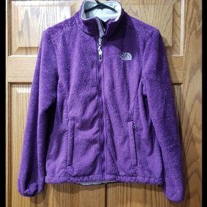 Gorgeous purple fleece North Face jacket!!